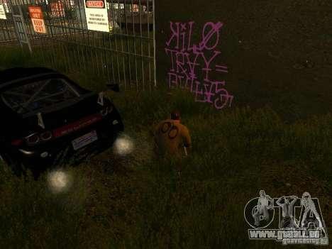 Bombing Mod by Empty v3.0 pour GTA San Andreas troisième écran
