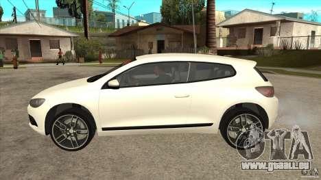 Volkswagen Scirocco 2009 pour GTA San Andreas laissé vue