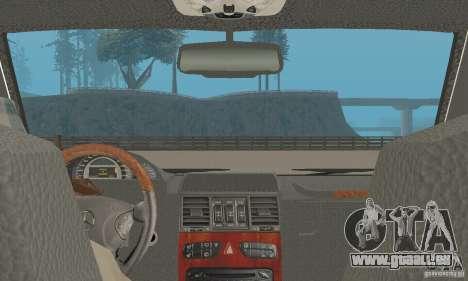 Mercedes-Benz G500 Zailer 2004 pour GTA San Andreas vue arrière