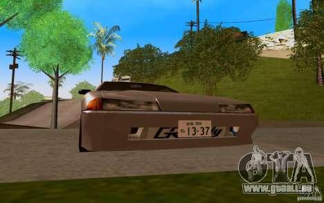 Nouvelle élégie pour GTA San Andreas laissé vue