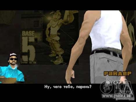 Varrio Los Aztecas pour GTA San Andreas troisième écran