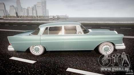 Mercedes-Benz W111 v1.0 für GTA 4 Seitenansicht