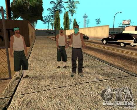 Beta Peds pour GTA San Andreas septième écran