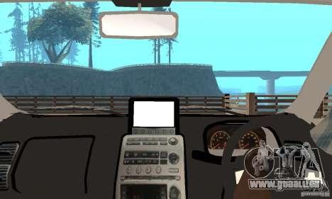 Nissan Skyline 350GT 2003 pour GTA San Andreas vue arrière