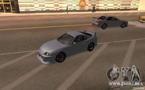 Toyota Supra Mark IV pour GTA San Andreas vue de droite
