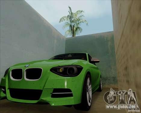 BMW M135i V1.0 2013 für GTA San Andreas Rückansicht