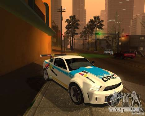 Ford Mustang GT-R 2010 pour GTA San Andreas vue arrière