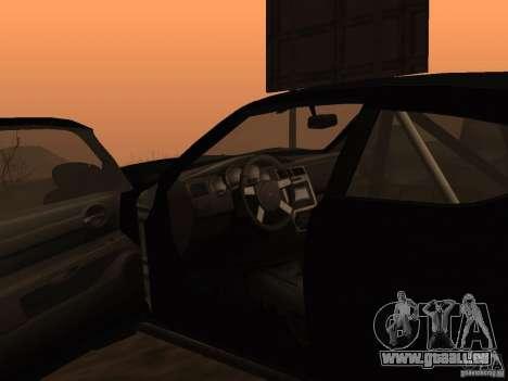 Dodge Charger Fast Five pour GTA San Andreas sur la vue arrière gauche