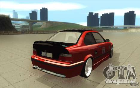 BMW Fan Drift Bolidas pour GTA San Andreas vue de côté