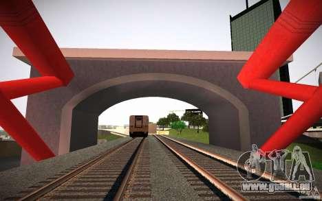 HD Red Bridge pour GTA San Andreas troisième écran