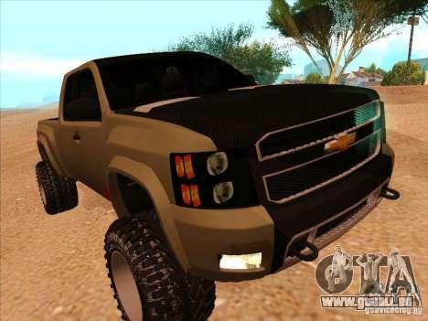 Chevrolet Silverado ZR2 für GTA San Andreas linke Ansicht