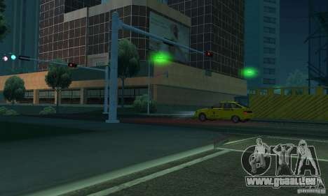 Grüne Lichter für GTA San Andreas sechsten Screenshot