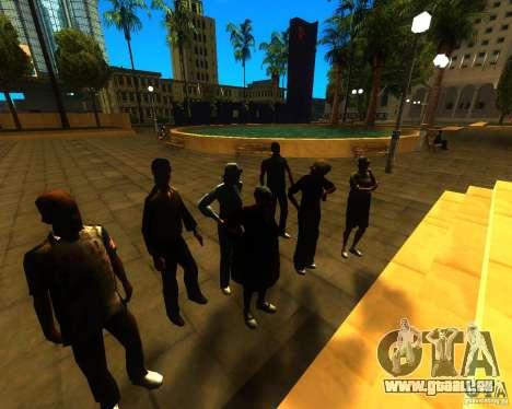Appel du maire aux habitants de l'état de pour GTA San Andreas troisième écran