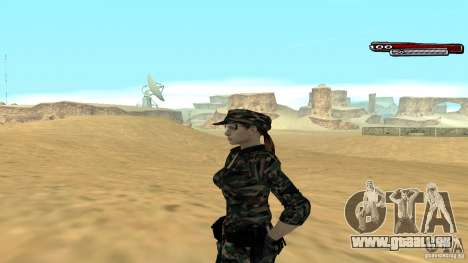 Soldat HD pour GTA San Andreas deuxième écran