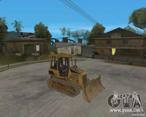 Bulldozer de COD 4 MW pour GTA San Andreas laissé vue
