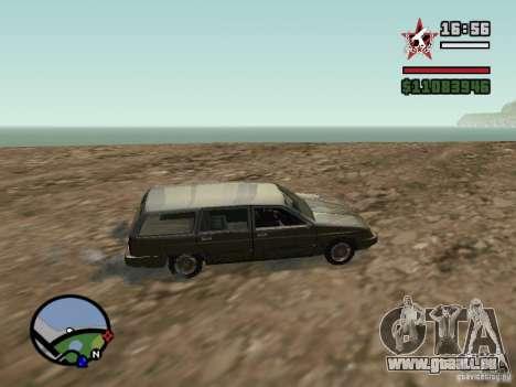 ENBSeries pour GForce 5200 FX v2.0 pour GTA San Andreas deuxième écran