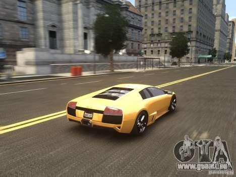 Lamborghini Murcielago LP640 2007 pour GTA 4 est un côté
