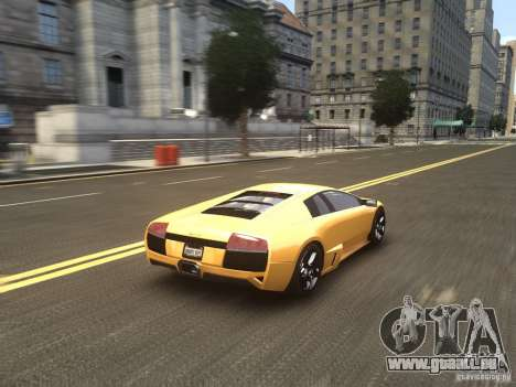 Lamborghini Murcielago LP640 2007 für GTA 4 Seitenansicht
