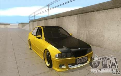 BMW M5 E39 - FnF4 pour GTA San Andreas vue arrière