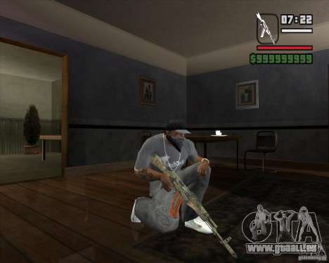 Kalasha von METRO 2033 für GTA San Andreas