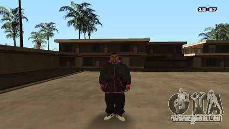 Skin Pack Ballas für GTA San Andreas her Screenshot