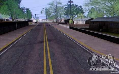 Campagne HQ pour GTA San Andreas troisième écran