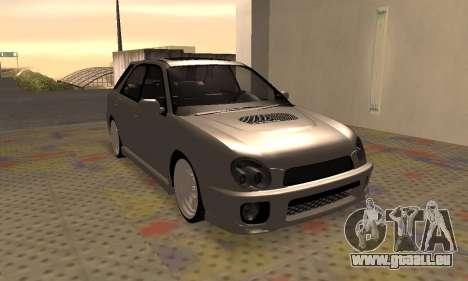 Subaru Impreza WRX Wagon für GTA San Andreas linke Ansicht