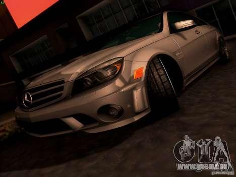 Mercedes-Benz C36 AMG für GTA San Andreas Räder