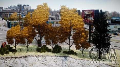 Realistic trees 1.2 für GTA 4 weiter Screenshot