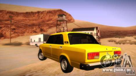 VAZ 2107 für GTA San Andreas Seitenansicht