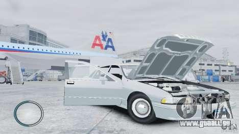 Chevrolet Caprice 1993 pour GTA 4 est un côté