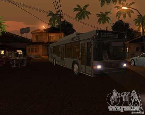 MAZ 103Т werden angeboten. für GTA San Andreas