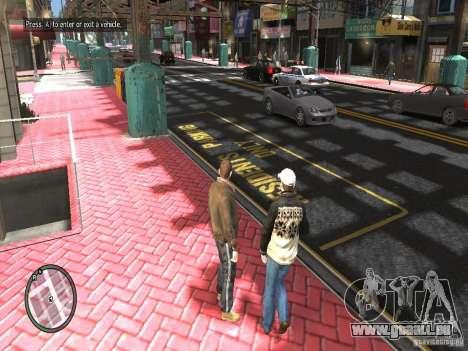 Road Textures (Pink Pavement version) pour GTA 4