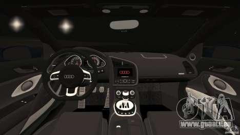 Audi R8 5.2 Stock Final für GTA 4 Rückansicht