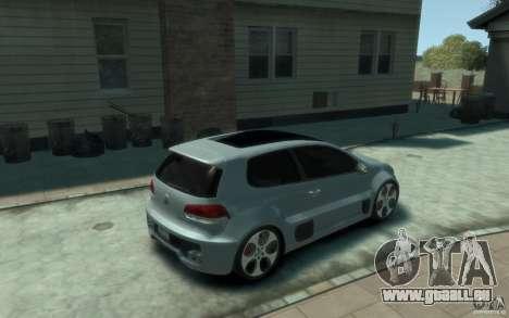 Volkswagen Golf W12-650 pour GTA 4 est un droit