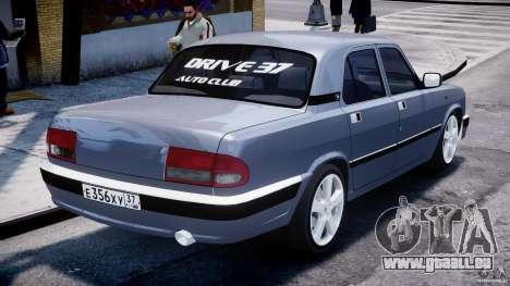 GAZ 3110 Turbo WRX STI v1. 0 für GTA 4 hinten links Ansicht