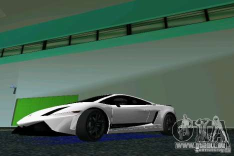 Lamborghini Gallardo LP570 SuperLeggera für GTA Vice City linke Ansicht