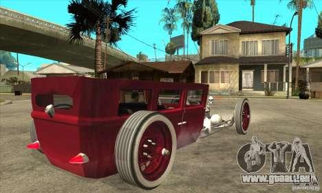 HotRod sedan 1920s no extra pour GTA San Andreas vue de droite