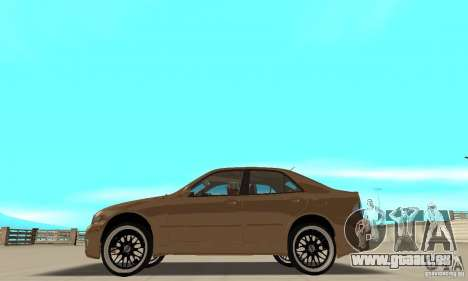 Lexus IS300 2005 für GTA San Andreas zurück linke Ansicht