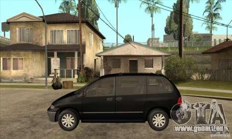 Dodge Caravan 1996 pour GTA San Andreas laissé vue