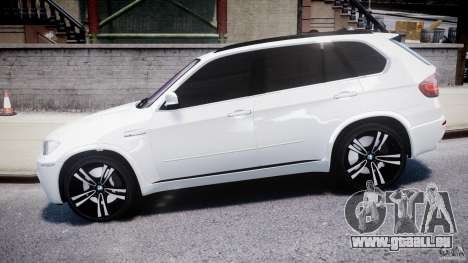 BMW X5M Chrome für GTA 4 linke Ansicht