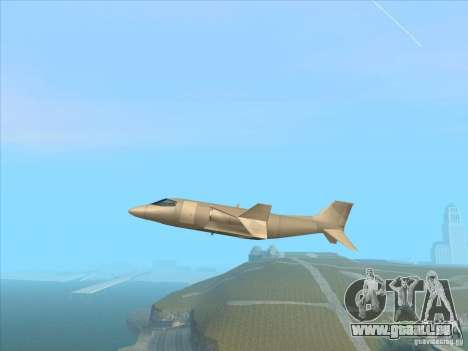 Cargo Shamal pour GTA San Andreas laissé vue