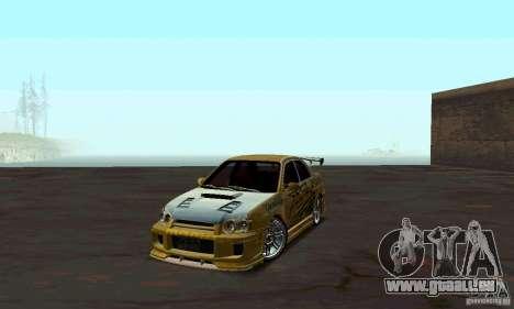 NFS Most Wanted - Paradise pour GTA San Andreas deuxième écran