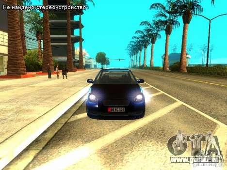 Hyundai Accent Era pour GTA San Andreas laissé vue