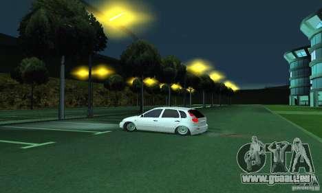 Lada Kalina Hatchback pour GTA San Andreas vue de droite