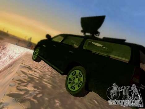 Suv Call Of Duty Modern Warfare 3 für GTA San Andreas Unteransicht