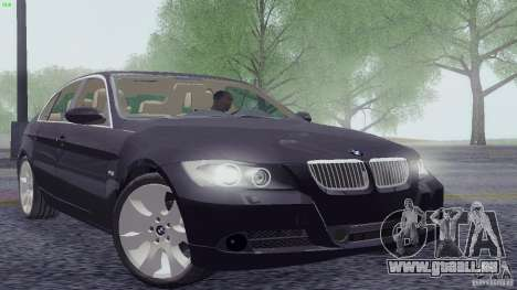 BMW 330i e90 pour GTA San Andreas