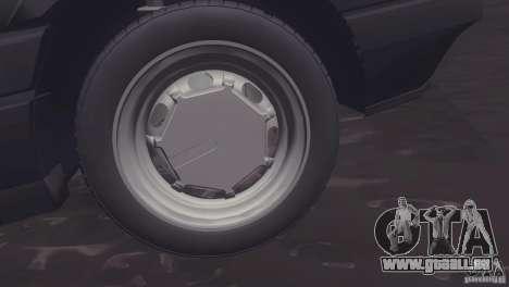 Volkswagen Passat B3 v2 pour GTA San Andreas sur la vue arrière gauche
