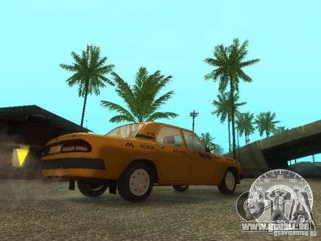 GAZ 3110 Wolga taxi für GTA San Andreas Innenansicht