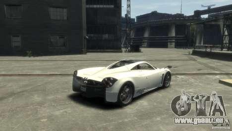 Pagani Huayra für GTA 4 linke Ansicht